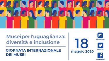 18 maggio 2020. Conversazione su Musei, Accessibilità, Inclusione ed equità nei tempi del COVID-19